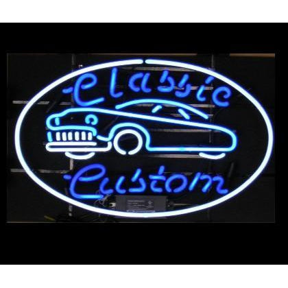 Classic Custom Hot Rod Neon Sign