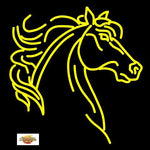 Horse Head Neon Sign for Cowboy or Cowgirl