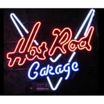 Hot Road Garage Neon Sign for Bar