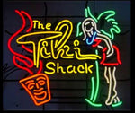 Tiki Shack Neon Bar Sign-Bar Neon Signs-Fire House Neon Signs