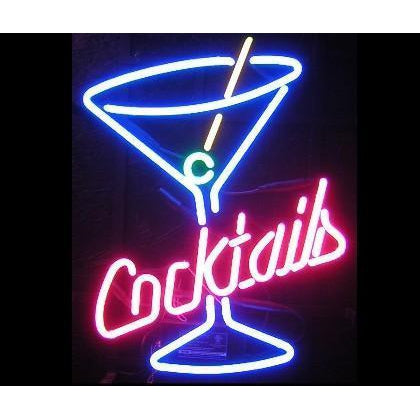 Cocktails Bar Neon Sign