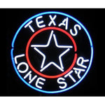 Texas Lone Star Neon Bar Signs