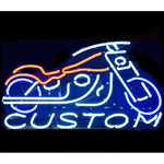 Custom Motorcycle Neon Bar Sign