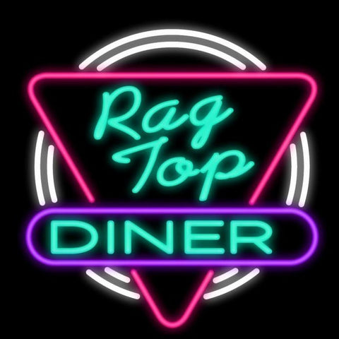 Rag Top Diner Neon Sign