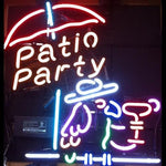 Patio Party Neon Bar Sign