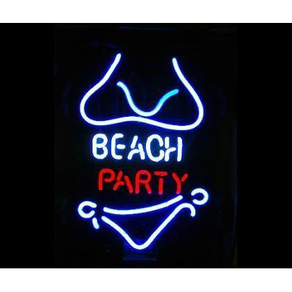 Beach Party Neon Bar Sign