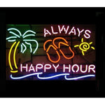 Always Happy Hour Neon Sign Light