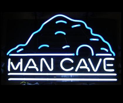 Man Cave Neon Sign for Bar
