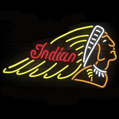 Indian Cycle Neon Sign