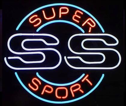 Super Sport Neon Bar Sign