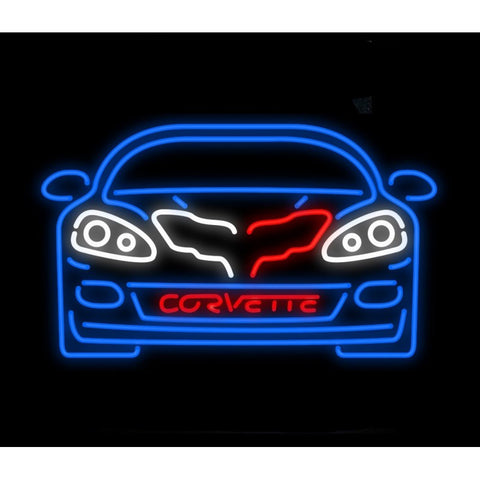 c6 Corvette Neon Bar Sign Light