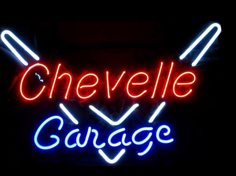 Chevelle Garage Neon Sign