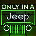 Jeep Neon Bar Sign