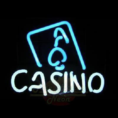 Ace Casino Neon Light Sign Sculpture - Neon Sculptures