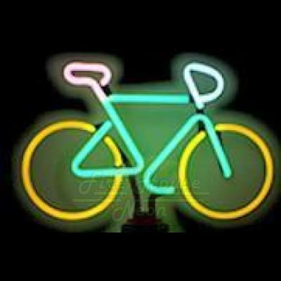 Bicycle Neon Light Sign Sculpture - Neon Sculptures