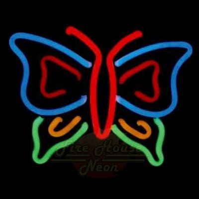 Butterfly Neon Light Sign Sculpture - Neon Sculptures