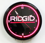 Custom Neon Clock Rigid
