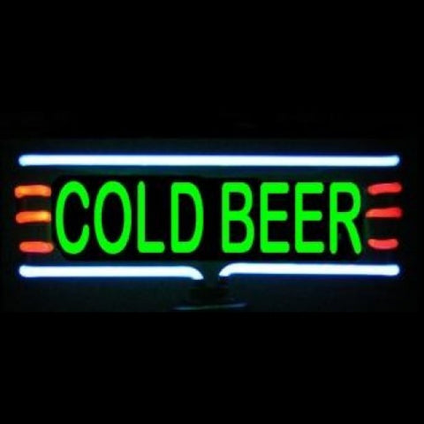 Cold Beer Neon Light Sculpture