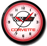 Corvette C4 Chevrolet Neon Clock