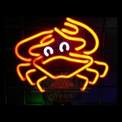 Crab Neon Light Sign Sculpture - Neon Sculptures