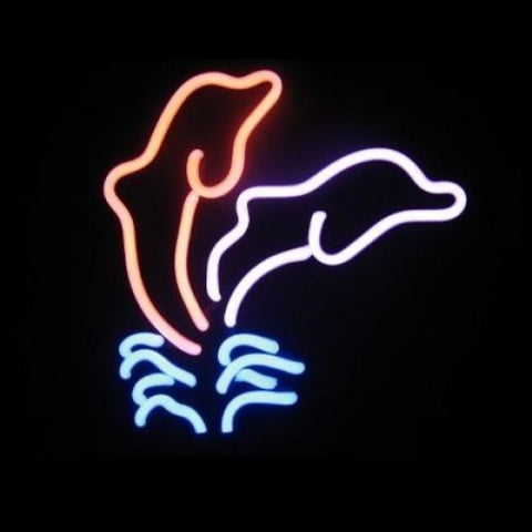 Dolphin Neon Light Sign Sculpture - Neon Sculptures