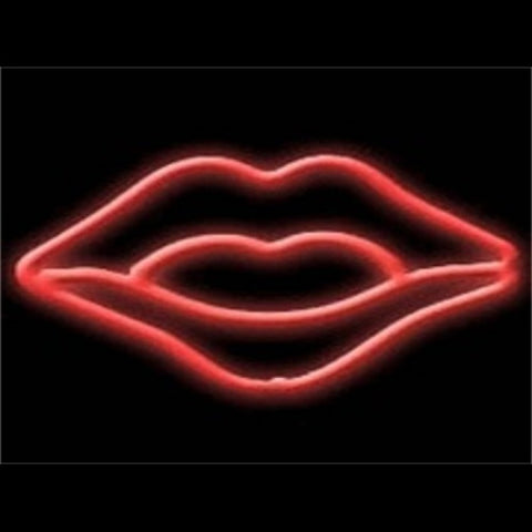 Lips Neon Light Sign Sculpture - Neon Sculptures