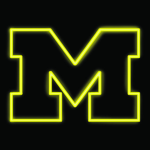 University of Michigan Neon Sign
