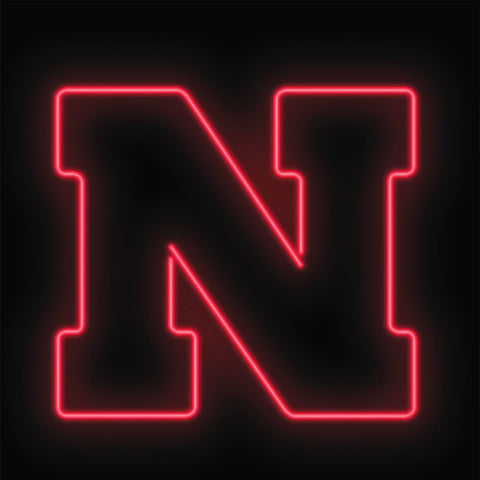 University of Nebraska Team Neon Sign