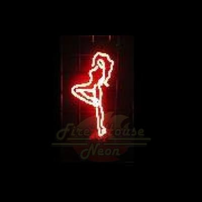 Nude Stripper Neon Light Sign Sculpture - Neon Sculptures