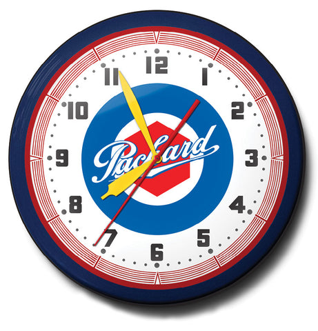 Packard Neon Clock