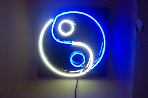 Ying Yang Neon Sign - Martial Arts