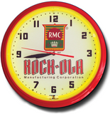 Rock-ola Jukeboxes Neon Clock