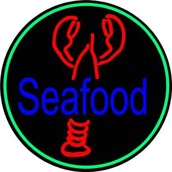 Lobster Shack Seafood Neon Sign