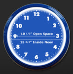 "20"" Neon Clock Specifications"