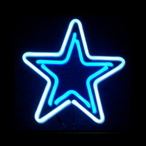 Star Neon Light Sign Sculpture