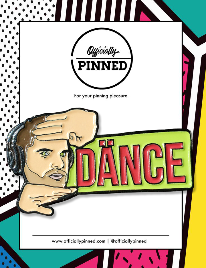 Flula Dance Pin