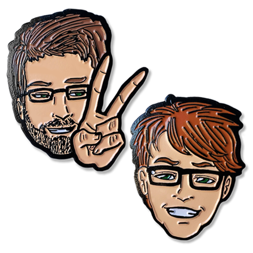 Vlogbrothers Portrait Pin Bundle
