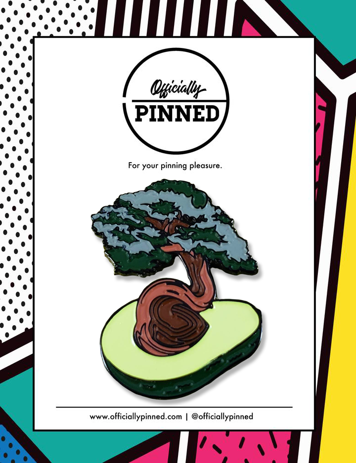 Avocado Tree Pin by Noah Grossman