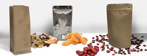Dried fruit packaging pouches give advantage to keep dried fruit products