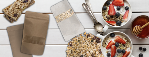 Granola and Muesli packaging gives advantage to promote granola and muesli products