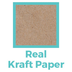 Real Kraft Paper gives excellent touch
