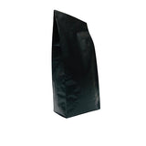 BLACK MATT OPP SIDE GUSSET BAGS