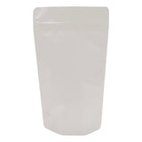 Milky White Matt Recyclabe Stand Up Pouch with Zipper