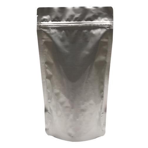 500pcs Silver Metallized Stand-Up Food Saver Pouches Stand-Up Pouch Stock Bag