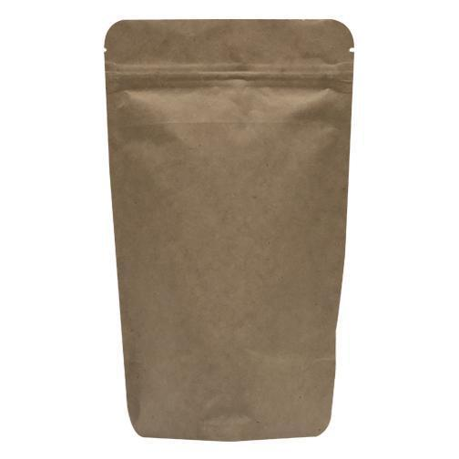 Kraft Aluminium Stand Up Pouch With Zipper