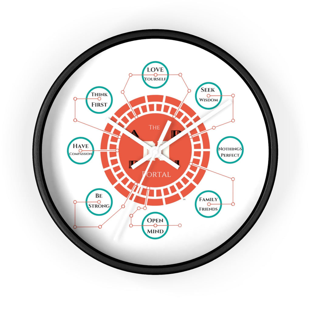 The Happi Portal Wall clock