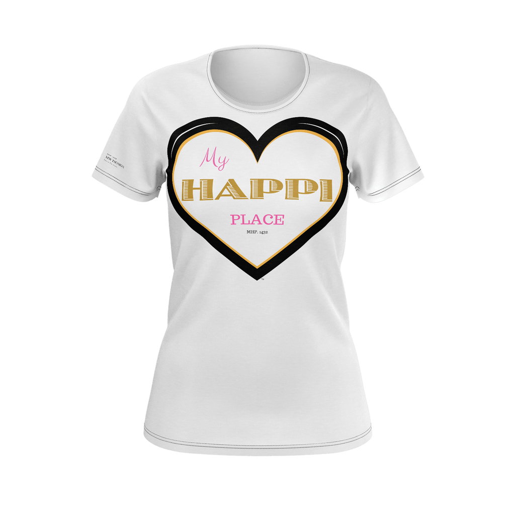 "My Happi Place ""MHP 1432 Special"" w/True Success Quote 100% Pima Cotton"