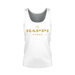 My Happi Place Tank Top for Women w/ MW Design 100% Pima Cotton
