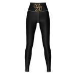Infinity MW Design My Happi Place Yoga Pants gold/blk