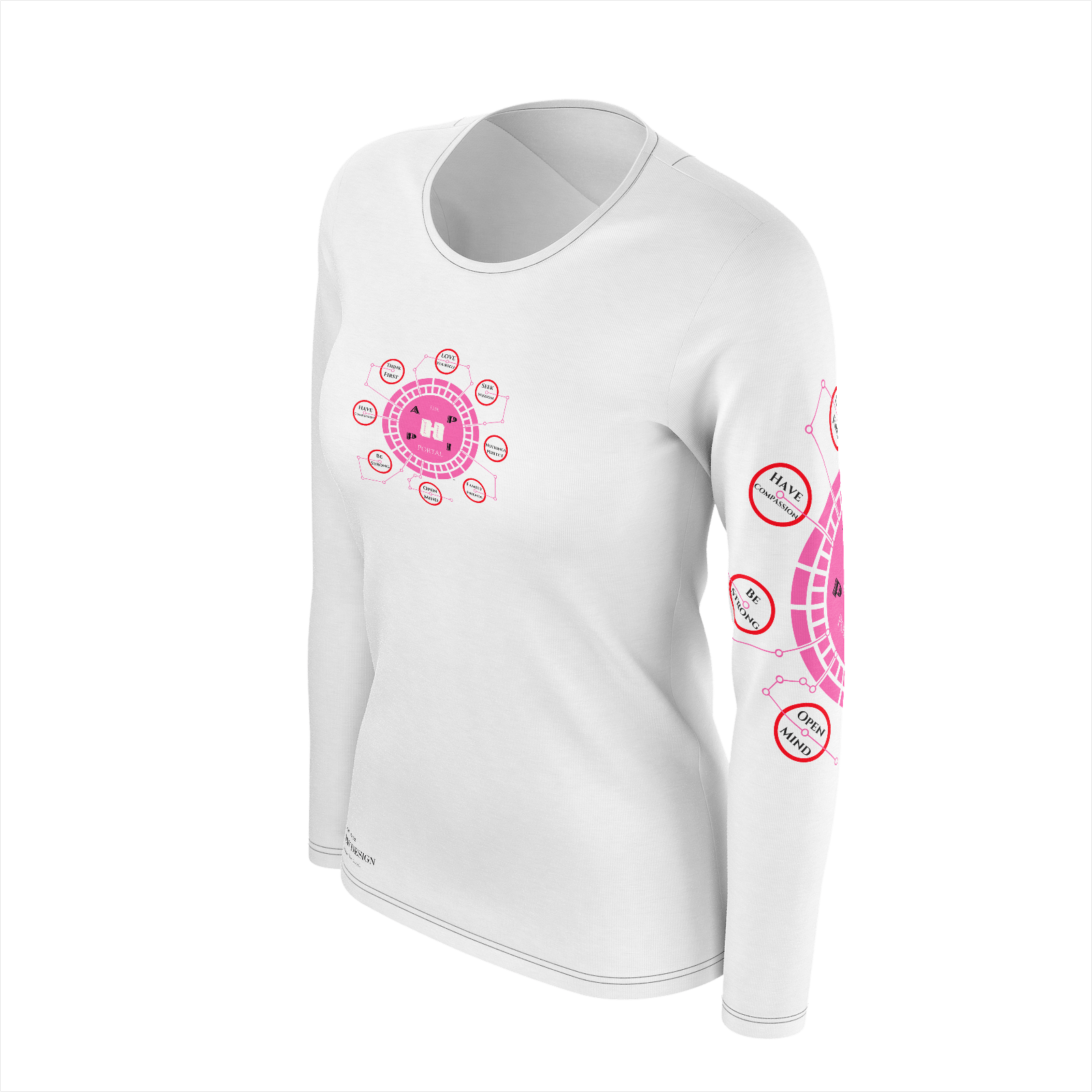 The Happi Portal Long Sleeve Tee For Women